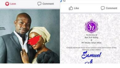 Photo of Nigerian man dies on his wedding day