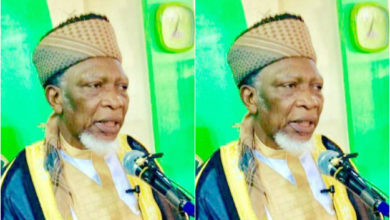 Photo of Nigerian Muslim leader calls coronavirus a 'western propaganda' (video)