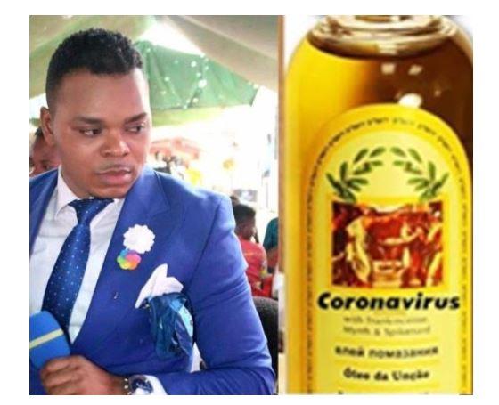 Bishop Obinim sells coronavirus anointing oil to his members for ₦13,000 1