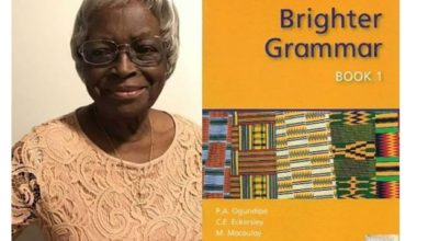 Photo of 'Brighter Grammar' Author, Phebean Ajibola Ogundipe dies at 92