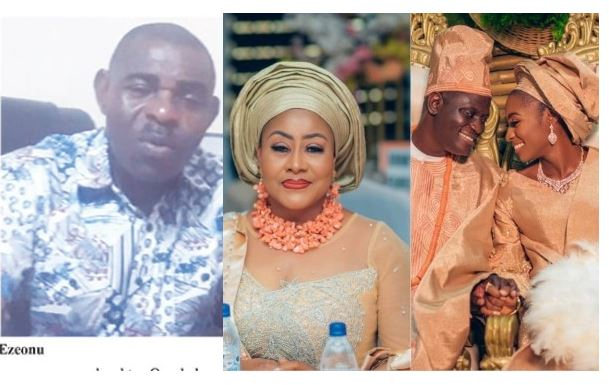 Ngozi Ezeonu married off my daughter without my consent after crashing our marriage – Ex-Husband Edwin Ezeonu 1