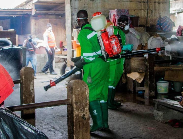 Ghanaian Authorities fumigate streets, markets as they battle Coronavirus pandemic (Photos) 9