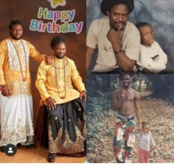 Daddy Showkey celebrates son as he becomes a year older 4