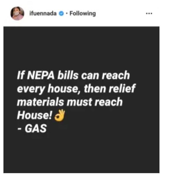 Coronavirus: If Nepa Bills can reach every House then relief Material must reach every House – Ifu Ennada Tells FG 4