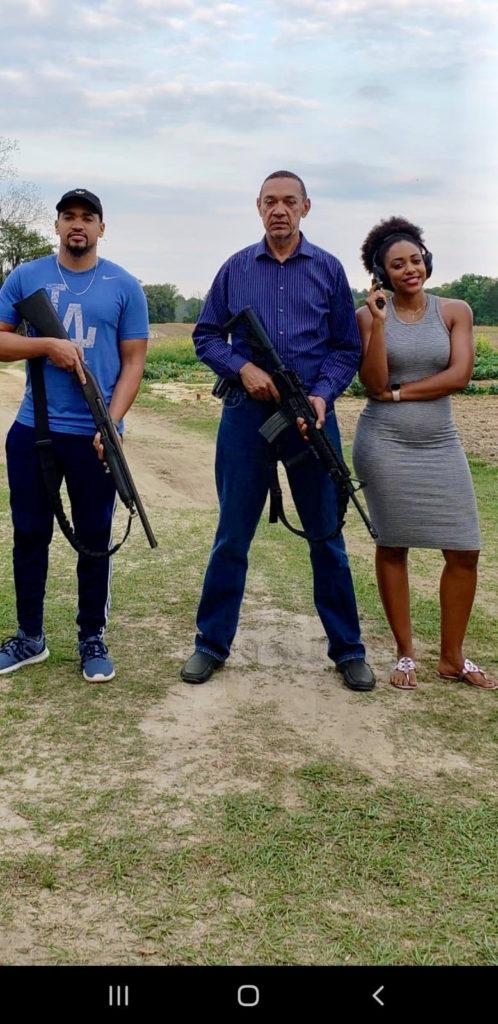 Ben Murray-Bruce and his kids pose with guns (photos) 4