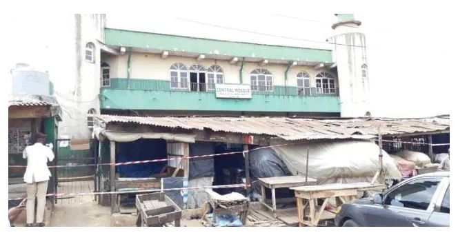 Lagos State shuts down Agege Central Mosque over attack on COVID-19 Taskforce (photos) 4