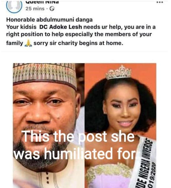 Kogi Commissioner, Abdulmumuni Danga, accused of assaulting Lady who asked him to take care of his family 6