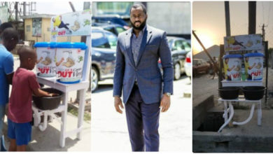 Photo of COVID 19: Nigerians Call a Desmond Elliot a Scam and Disappointment to youths over his 'plastic makeshift cleansing' project