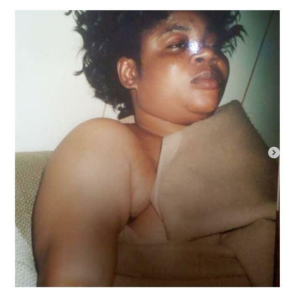 Veteran Singer Salawa Abeni raises alarm after being blackmailed with old 'Nip slip photos'. She then leaks it herself (Photos) 13