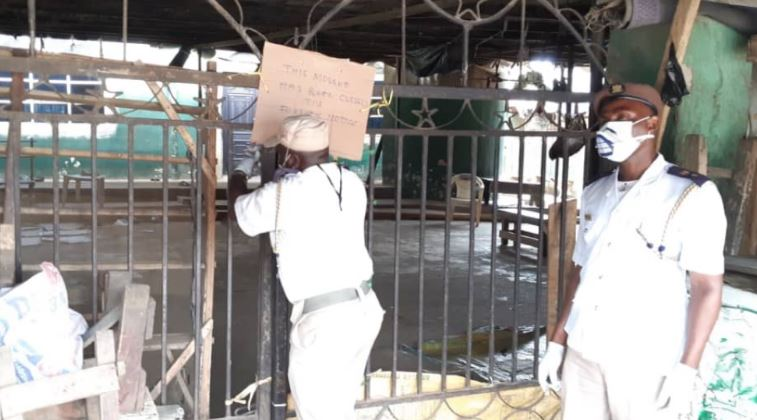 Lagos State shuts down Agege Central Mosque over attack on COVID-19 Taskforce (photos) 3