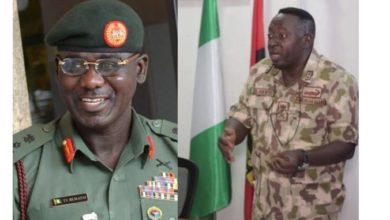 Photo of Buratai praises Gen Adeniyi for 'Uncommon Leadership' after he was Redeployed for complaining about poor equipment in video