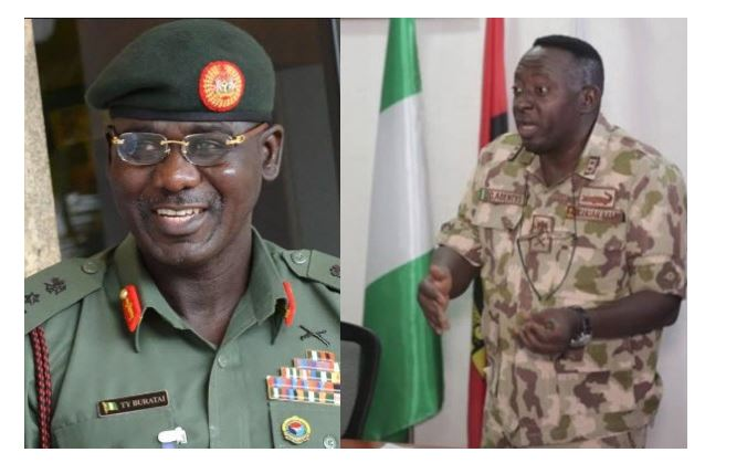 Buratai praises Gen Adeniyi for 'Uncommon Leadership' after he was Redeployed for complaining about poor equipment in video 1