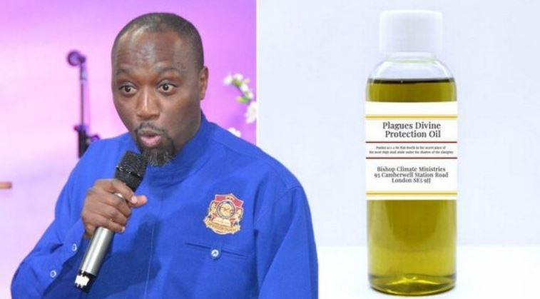 Kenyan Pastor Investigated in the UK for selling Coronavirus Protection Oil to members for £91 (N40,950) 3