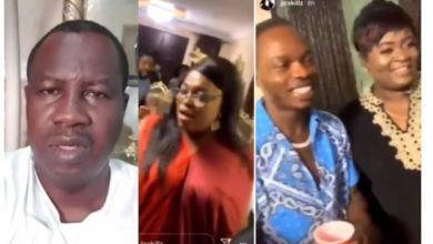 Photo of I suffered a Lapse of Judgement – Former Gov Aspirant, Babatunde Gbadamosi apologizes after attending Funke Akindele's house party (video)