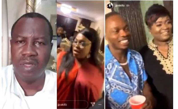 I suffered a Lapse of Judgement - Former Gov Aspirant, Babatunde Gbadamosi apologizes after attending Funke Akindele's house party (video) 1