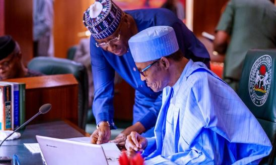 Only President Buhari can decide if COVID-19 lockdown will be extended- SGF, Boss Mustapha says 1