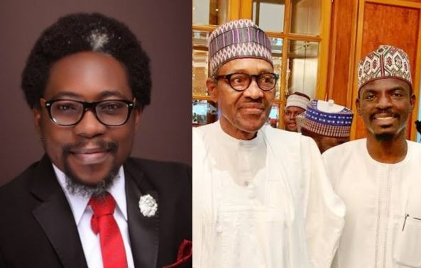 Chinese Govt treats Nigerians like Dogs yet you're masturbating over their Greek gift - Activist, Segalink slams Buhari's aide 7