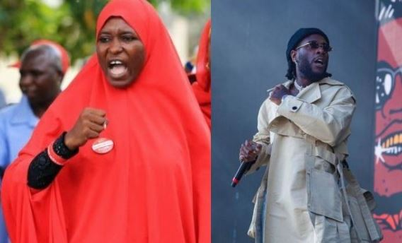 Any celebrity that messes up will be called out - Activist, Aisha Yesufu slams Burna Boy 1