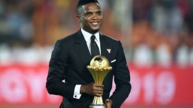 Photo of 'I will give my life to serve you'- Eto'o starts donation of COVID-19 palliatives to 100,000 Cameroonians