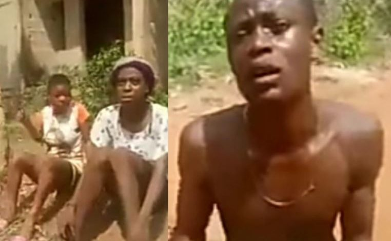 Teenage girls accuse man and his friends of initiating them into Cultism by Raping and forcing them to pay initiation fee in Anambra (video) 1