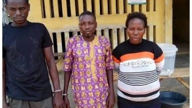 Photo of Couple who allegedly killed their 7-year-old-son for Money Ritual, arrested in Ogun State