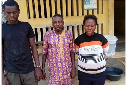 Couple who allegedly killed their 7-year-old-son for Money Ritual, arrested in Ogun State 1