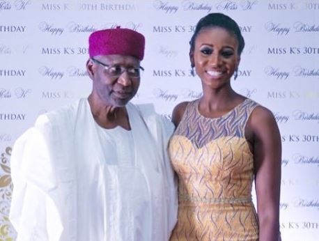 Abba Kyari's daughter slams people claiming her father was responsible for Nigeria's problem; Calls out Lola Omotayo 1
