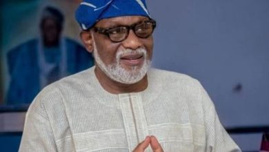 Photo of Akeredolu mourns health Commissioner who died of Covid-19
