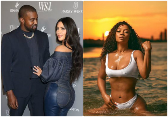 Toke Makinwa blasts Nigerian men who expect women to stand by them as Kim stood by Kanye but won't sacrifice as Kanye did for Kim 1