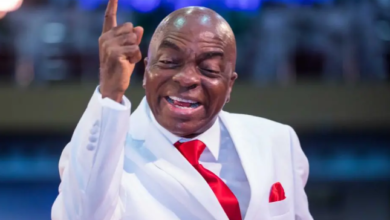 "Photo of ""If your family member dies, will you die with him?"" Bishop Oyedepo slams Nigerian leaders for stalling the reopening of churches"