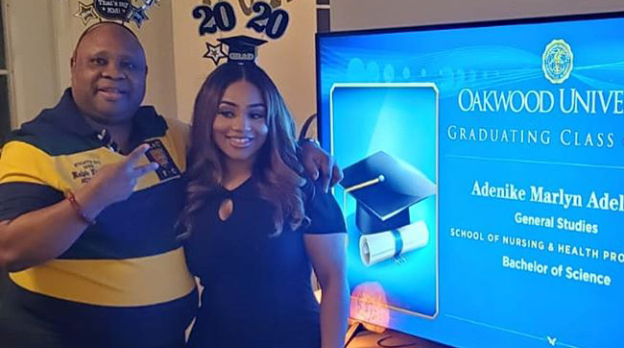 Daughter of Senator Ademola Adeleke graduates from US University despite Covid-19 5