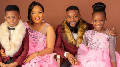 Photo of Nigerian artiste, Kcee and his Wife welcome Baby Boy on her Birthday.