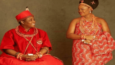 Photo of Oba of Benin welcomes Baby Boy.