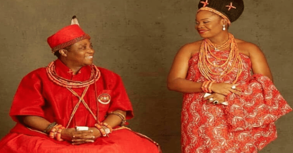 Oba of Benin welcomes Baby Boy. 1