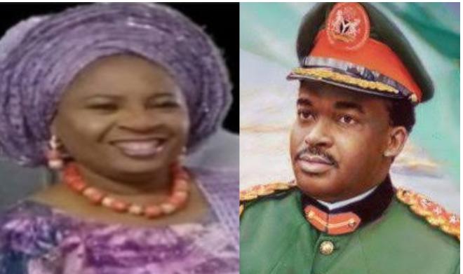 Former Military Vice President, Lt. Gen. Oladipo Diya loses Wife, Folashade Diya 1