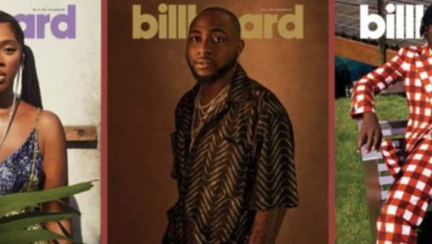 Photo of Davido, Tiwa Savage, Mr Eazi Cover Billboard Magazine