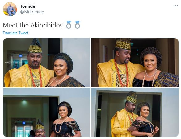 Ondo Dep Minority leader, Hon. Akinribido's ex-girlfriend drags him on his wedding day, accuses him of lying & defrauding her 1