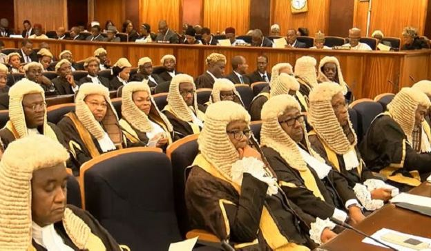 """Controversy as NJC allegedly recommends """"unqualified"""" relatives of Supreme Court Judges, others to Buhari for appointments 1"""