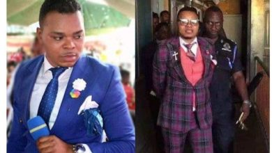 Photo of Ghanaian Pastor, Bishop Obinim still in police custody after failing to meet bail requirements
