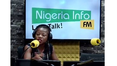 Photo of OAP Joyce Onyemuwa goes off on a caller who advised women in abusive marriages to emulate Jesus and endure their pain (video)