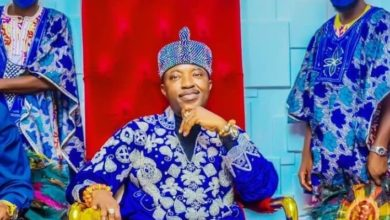 "Photo of Oluwo of Iwo condemns ""Ignorance"" that makes Black men worship the White man's God while demonizing Sango ""who was a good man"""