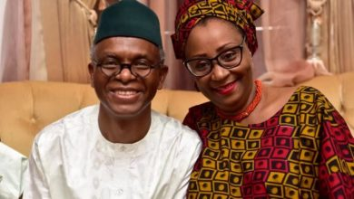 "Photo of Kaduna Killings: ""I married a Governor, I'm not a part of government.""- Gov El-Rufai's Wife replies critics"