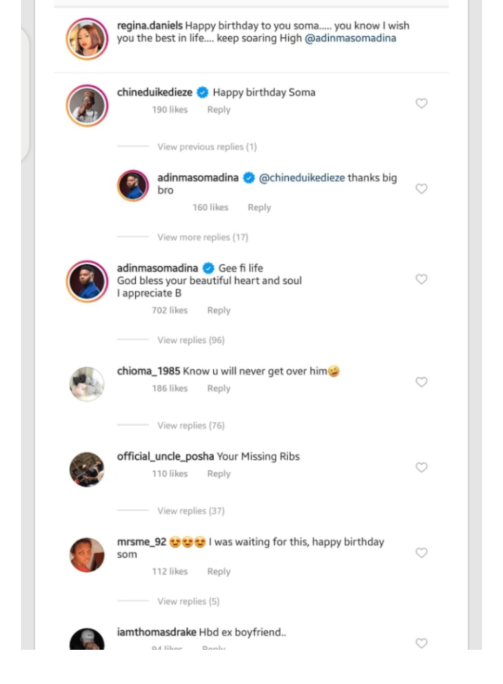 """""""Know you will never get over him"""" - Fans tell Regina Daniels as she celebrates her ex on his birthday 4"""