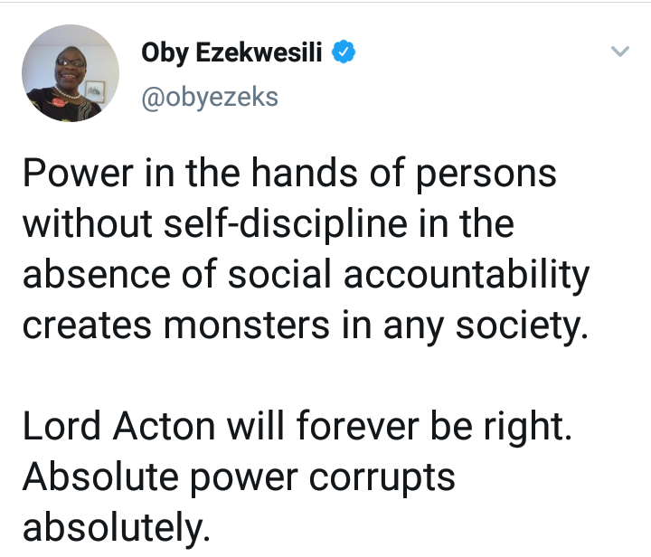 His action breeds anarchy in the Society - Oby Ezekwesili reacts to Wike's  demolition of Hotels 8