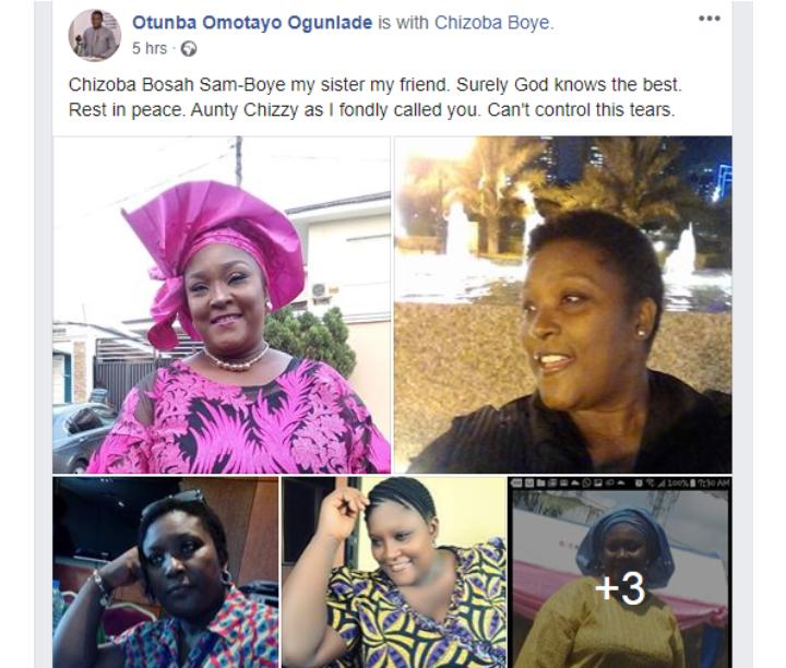 Nollywood Actress, Chizoba Boye is dead 4