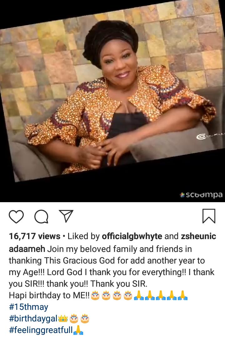 Nollywood actress, Ada Ameh celebrates Birthday today 4