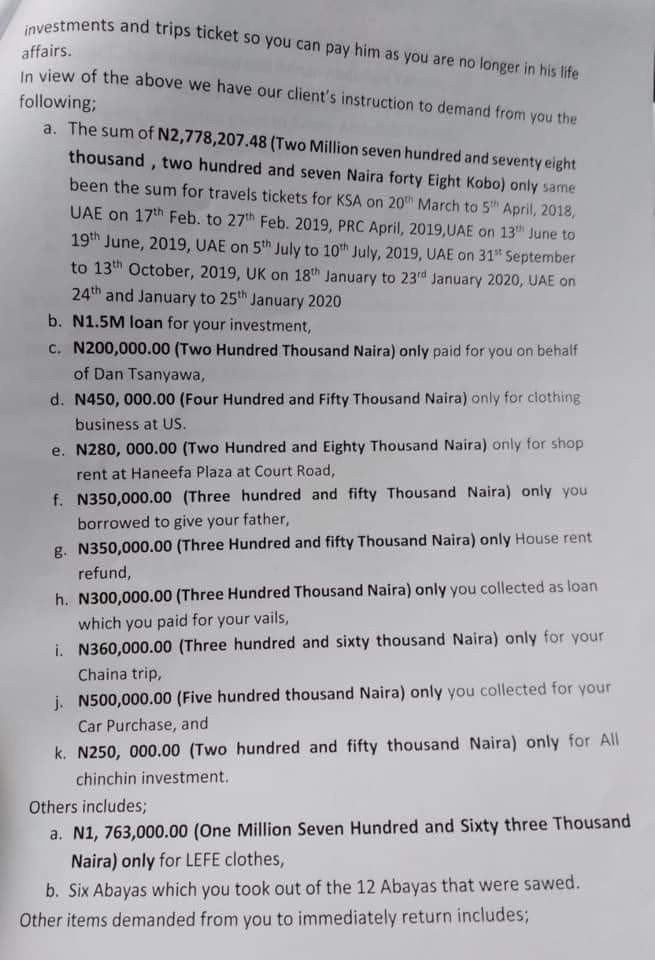 Man claiming to be ex-boyfriend of NCS DG's new Wife demands refund of N9m 9