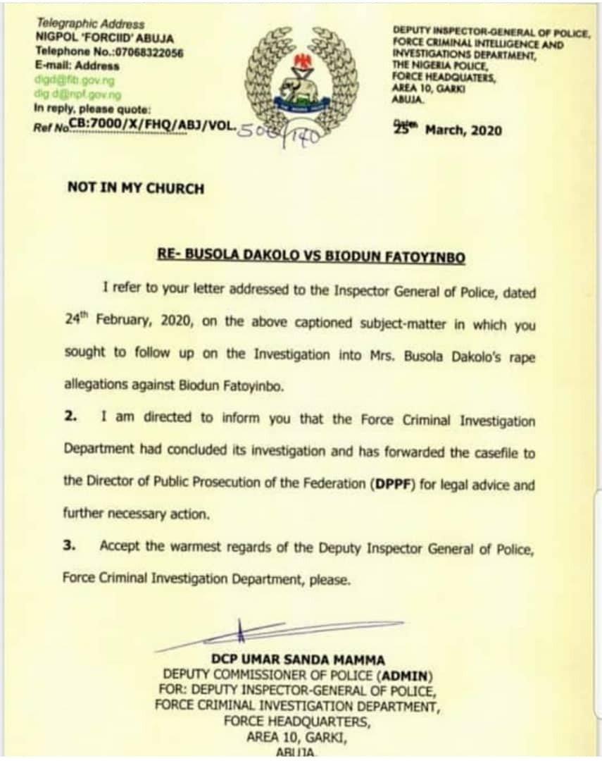 Busola Dakolo shares update on rape case against Pastor Biodun Fatoyinbo 4