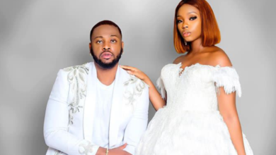Photo of BBNaija couple, Teddy A and Bambam celebrate one year anniversary