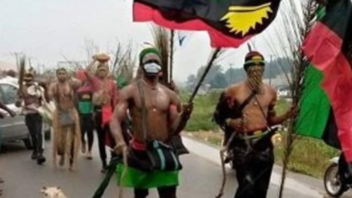 Photo of IPOB members arrested for protesting in Aba